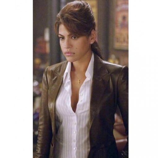 Roxanne Simpson Brown Leather Jacket