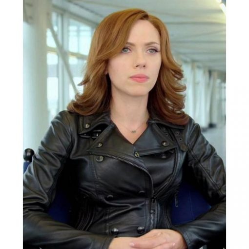 Civil War Scarlett Johansson Jacket