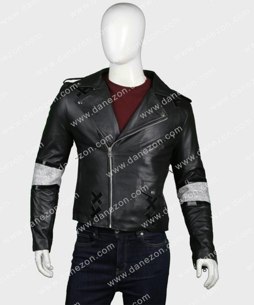 Julian Casablancas Black Leather Jacket