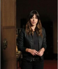 Chloe Bennet Agents of Shield Black Jacket