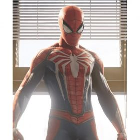 Video Game Spider Man Jacket
