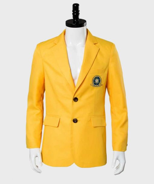 Spiderman Homecoming Yellow Wool Blazer Jacket