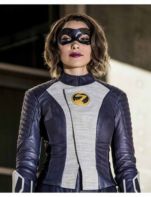 Iris West The Flash Leather Jacket