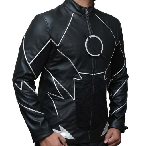 Hunter Zolomon The Flash Zoom Black Jacket