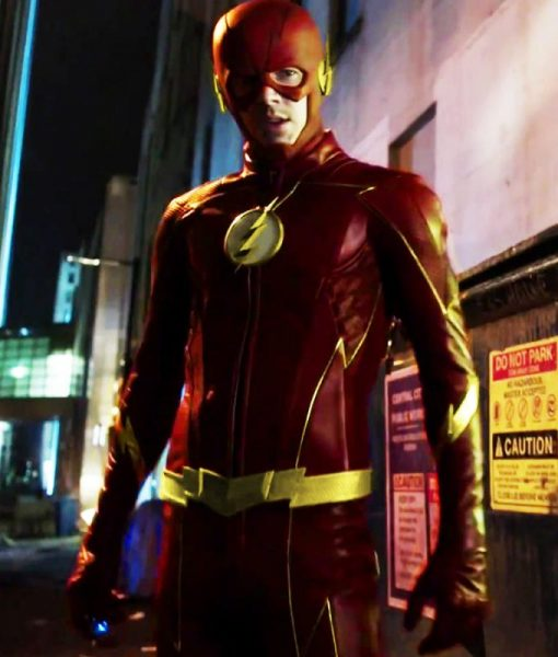 Future Flash Season 3 Leather Jacket