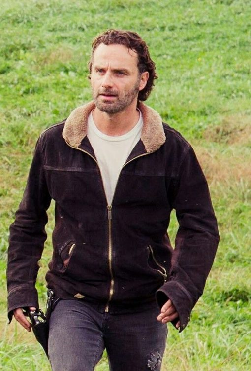 Rick Grime The Walking Dead TV Series Jacket
