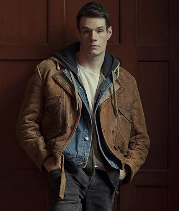 Sex Education Adam Groff Leather Jacket