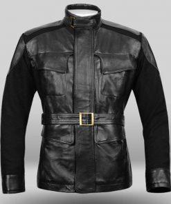 Nick Fury Age Of Ultron Black Jacket