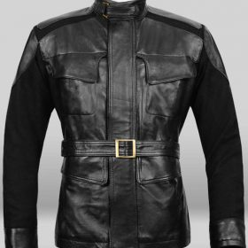 Nick Fury Age Of Ultron Black Jacket