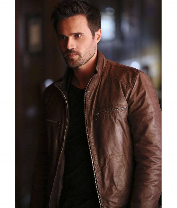 Grant Ward Agents Of Shield Leather Jacket