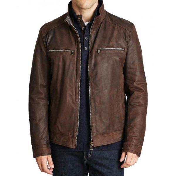 Brett Dalton Agents Of Shield TV Series Leather Jacket