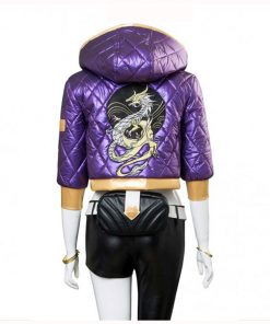 League Of Legends Akali Satin Jacket