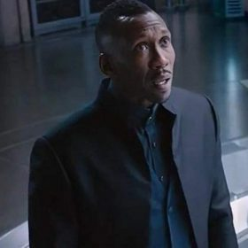 Mahershala Ali Alita Battle Angel Black Cotton Jacket