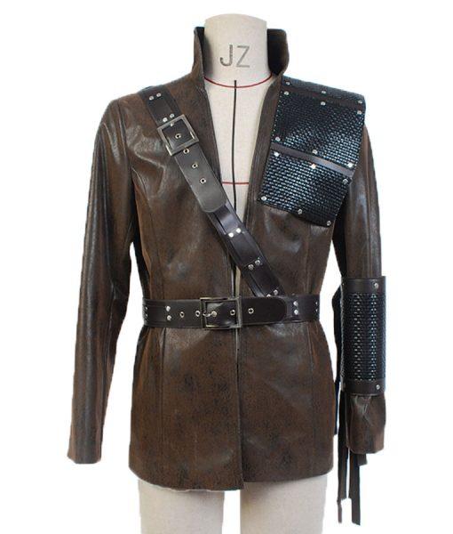 Malcolm Merlyn Arrow Leather Coat