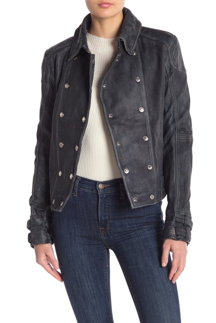 Dinah Drake Arrow Season 7 Black Motorcycle Jacket