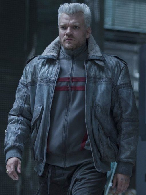 Ghost In The Shell Batou Bomber Jacket