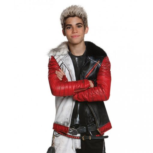 Descendants Cameron Boyce Fur Collar Jacket