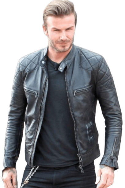 David Beckham Leather Jacket