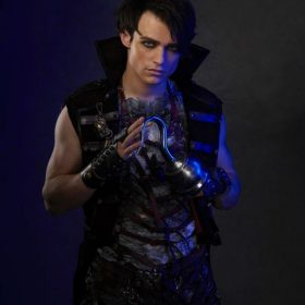 Harry Hook Descendants 3 Velvet Vest