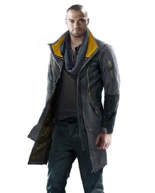 Markus Detroit Become Human PS4 Leather Coat