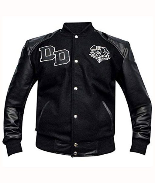 Metal Gear Solid Diamond Dogs Black Bomber Jacket