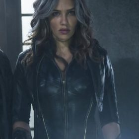 Arrow Flash Forward Dinah Drake Black Jacket