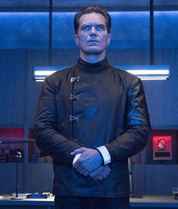 Captain Beatty Fahrenheit 451 Black Jacket