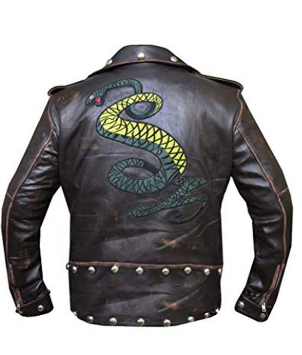Tunnel Snakes Rule Fallout 3 Brown Distressed Jacket