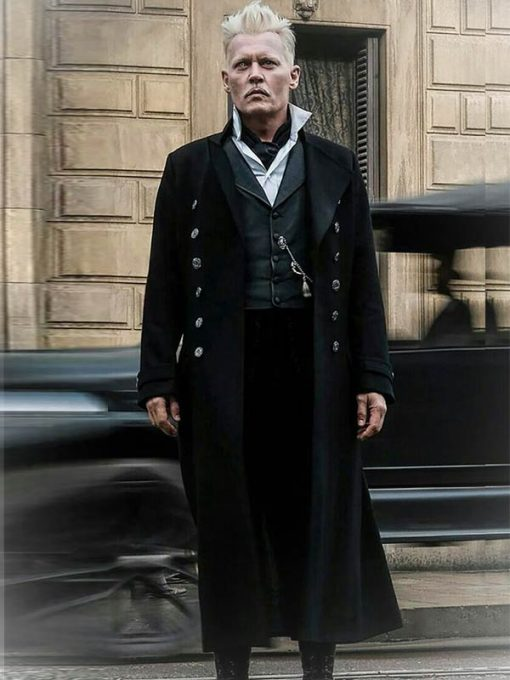 Fantastic Beasts 2 Gellert Grindelwald Trench Coat