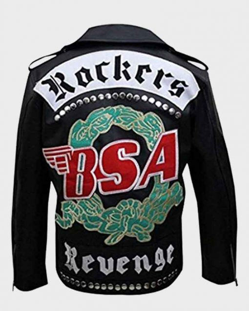 George Michael Rockers BSA Revenge Leather Jacket