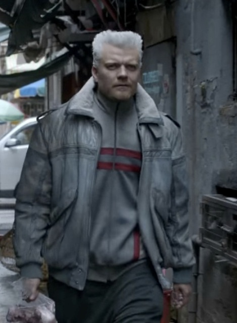 Pilou Asbæk Ghost In The Shell Bomber Jacket
