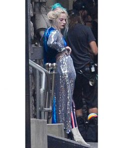 Birds Of Prey Harley Quinn Velvet Sequin Coat