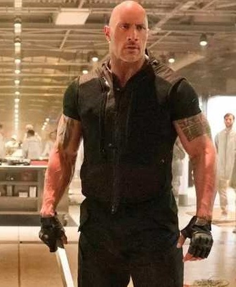 Dwayne Johnson Hobbs And Shaw Leather Vest