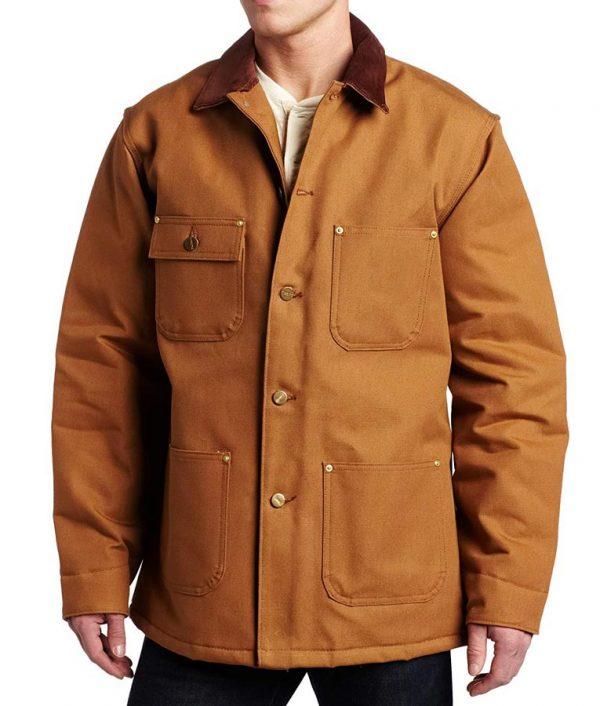 Cold Pursuit Liam Neeson Brown Jacket