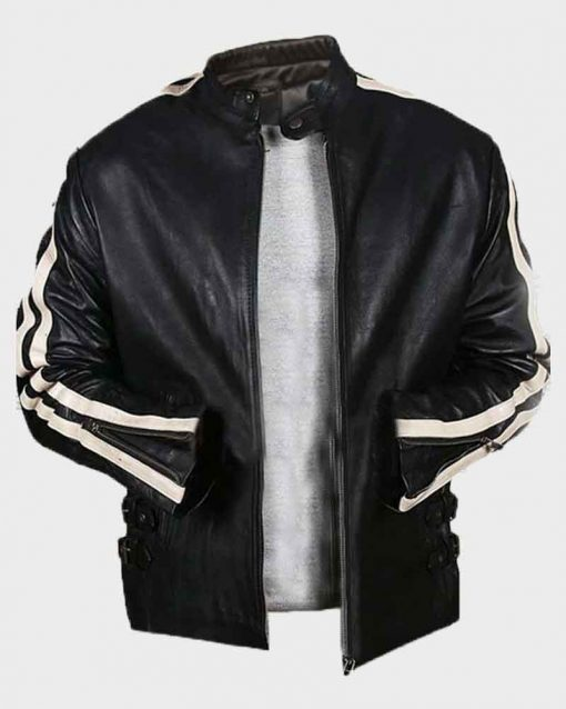 Mel Gibson Lethal Weapon 4 Leather Jacket