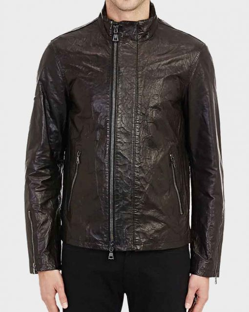 Tom Cruise Leather Mission Impossible Rogue Nation Ethan Hunt Jacket