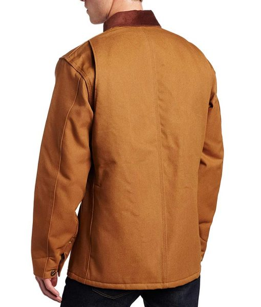 Cold Pursuit Nels Coxman Brown Jacket