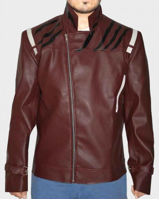 Red Leather Video Game No More Heroes Travis Touchdown Jacket