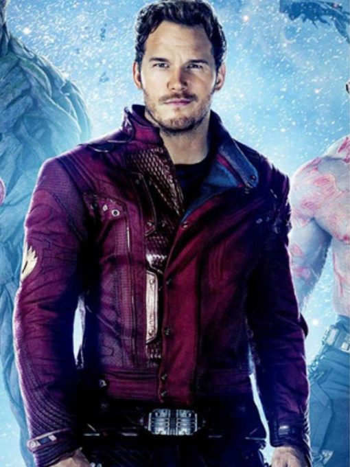 Peter Quill Ravager Leather Jacket