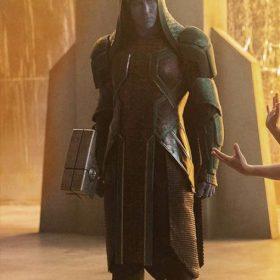 Captain Marvel Ronan Trench Leather Coat