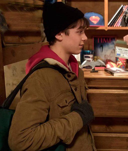 Asher Angel Shazam Wool Jacket