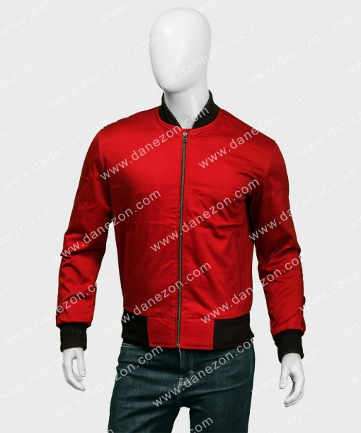 Barry Allen Bomber Jacket