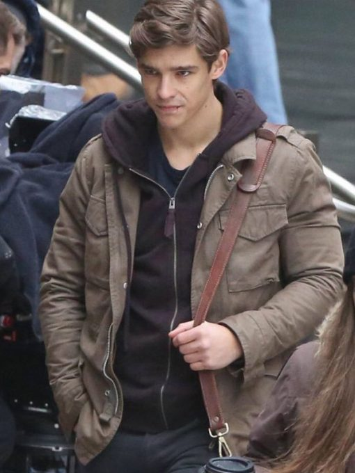 Brenton Thwaites Titans TV Series Cotton Jacket