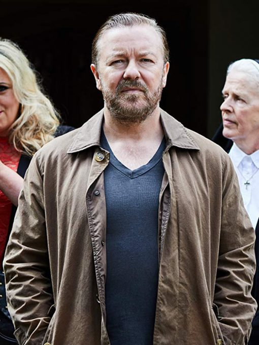 Ricky Gervais After Life TV Series Jacket