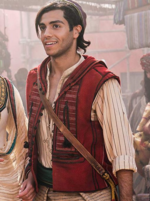 Aladdin Red Cotton Vest