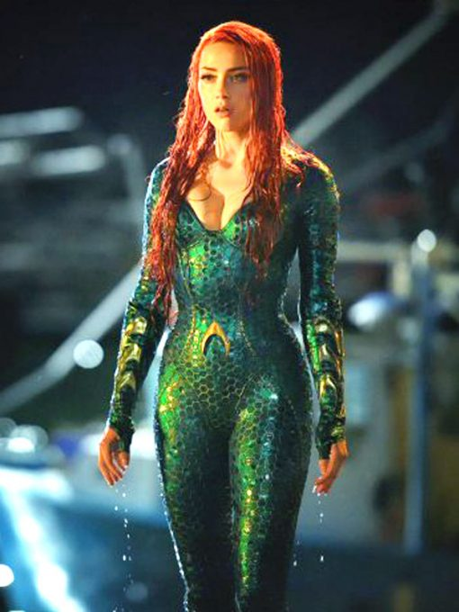 Amber Heard Aquaman Jacket