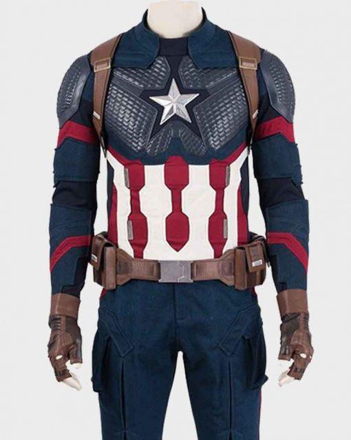 Avengers Endgame Steve Rogers Captain America Jacket - Copy