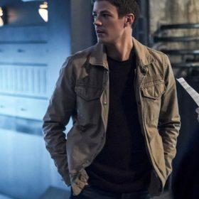 The Flash Season 5 Barry Allen Cotton Jacket