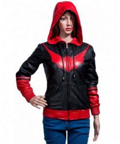 Kate Kane Batwoman Hooded Jacket
