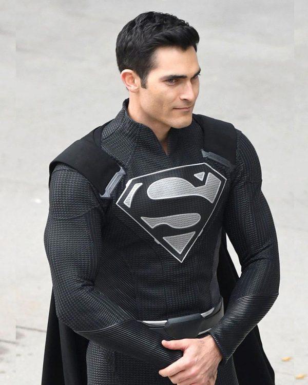 Elseworld Black Superman Suit Jacket